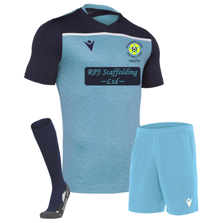 Whaddon United Youth FC JNR U12's Matchday Home Kit