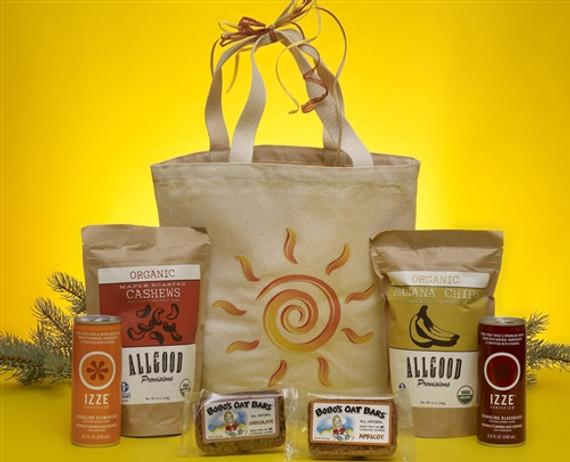 Sunburst Gluten Free Health Gift Basket
