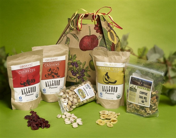 Organic Snack Attack Health Gift Basket