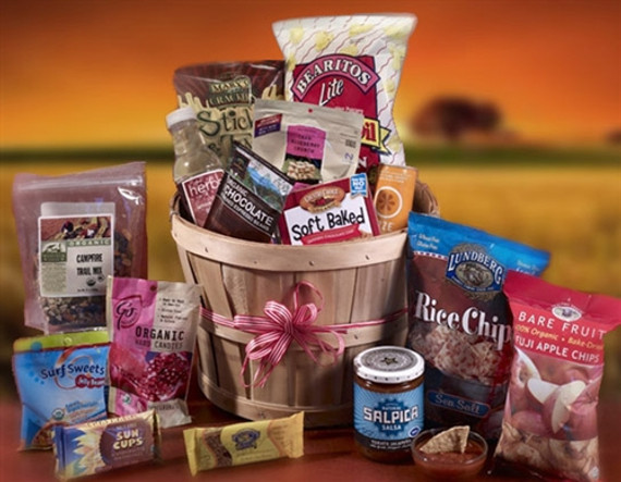 A Bountiful Bushel Healthy Gift Basket