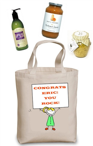 Billboard Build Your Own Gift Basket (You personalize the tote and choose the contents)
