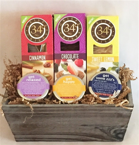 Sip and Be Happy Gift Basket