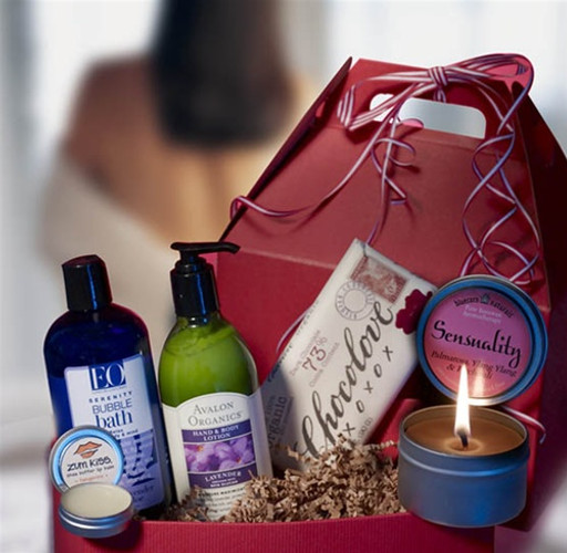 Peaceful Places Gift Basket