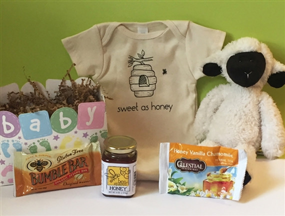 Sweet as Honey Baby Gift Basket