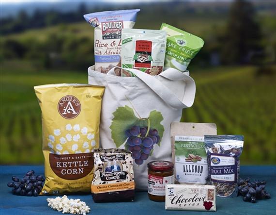 Snack Vine Organic Gift Basket