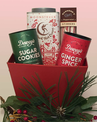 Cookies and Cocoa Holiday gift basket