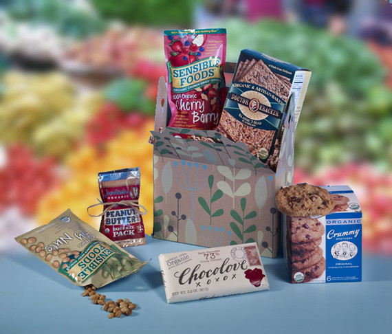 Healthy Choice Snack Gift Basket