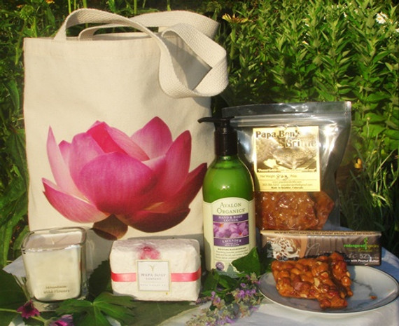 Happy Mother's Day Organic Gift Basket
