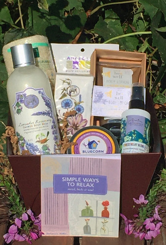 Relaxing Retreat Spa Gift Basket