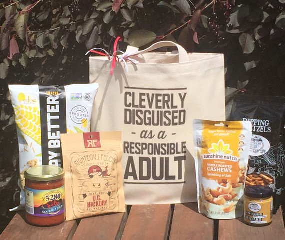 Cleverly Disguised Gift Basket for Men