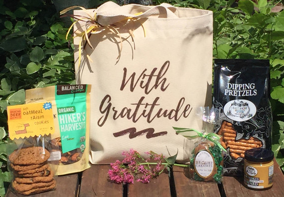 With Gratitude Gift Basket
