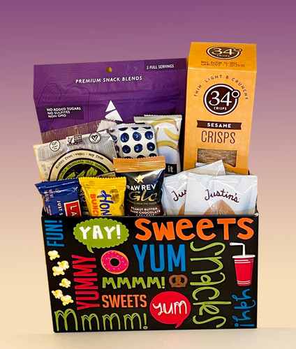 Yay, snacks everyone will feel good about!  Energizing snacks for a college student, hard working employee or to help celebrate a birthday or big milestone.
