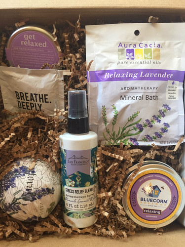 Get Relaxed Gift Basket