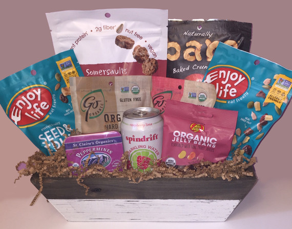 No nuts, no kidding! gift basket