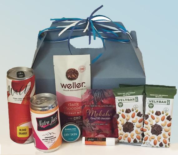 CBD gift basket