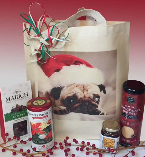 Sweet Treats Personalized Holiday Gift Basket