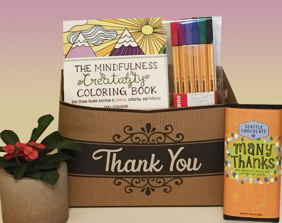 A Mindful Thank You Gift Basket