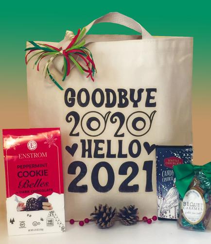 Goodbye 2020 Hello 2021 Gift Basket