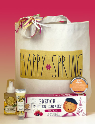 Happy Spring Gift Basket