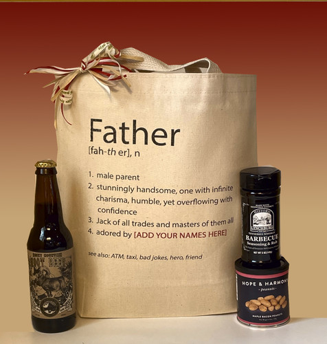 Personalize this Father definition with the names of those that adore Dad.  A unique, fun, personalized Father's Day gift!