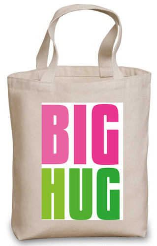 Send a BIG HUG tote filled with sweets and snacks they're sure to love!