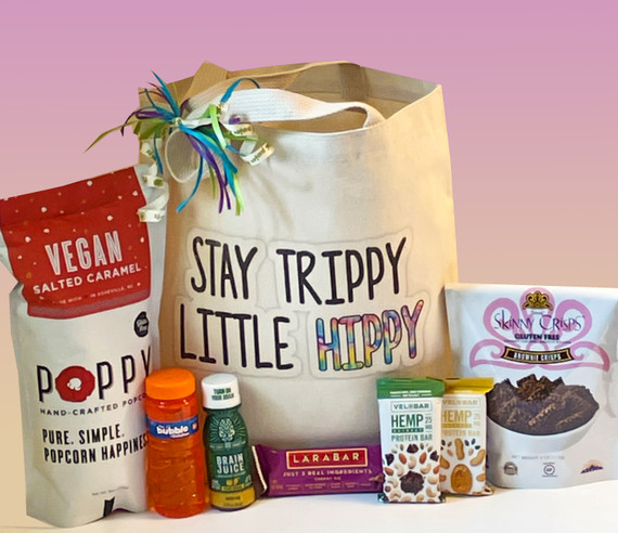 Send your Vegan and/or Gluten Free child off to school with this gift tote full of products they'll love + Bubbles!!  Customize with extras for your personal touch.