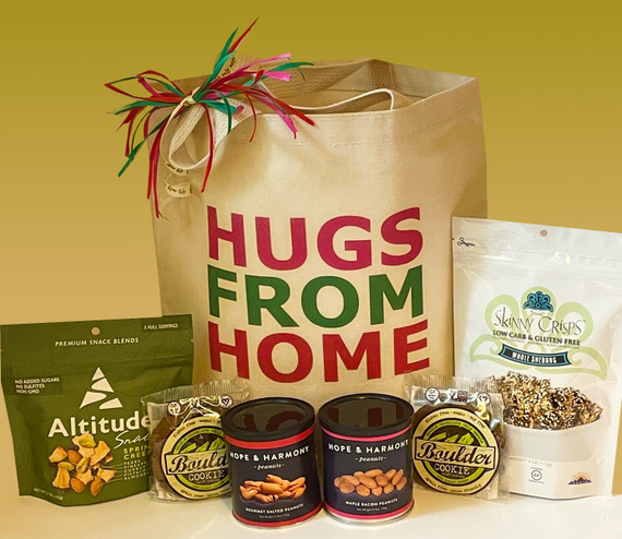 When you can't be there to deliver a much needed hug to your hard working college student, this gift basket will deliver an emotional and nutritional boost and a healthy dose of love from home.