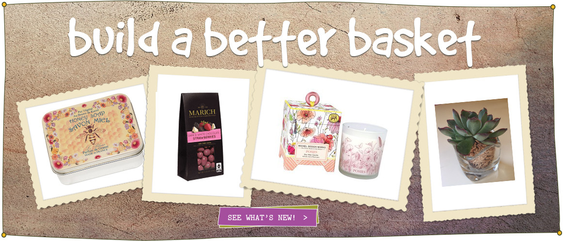 Healthy, Gourmet Artisan Gift Baskets