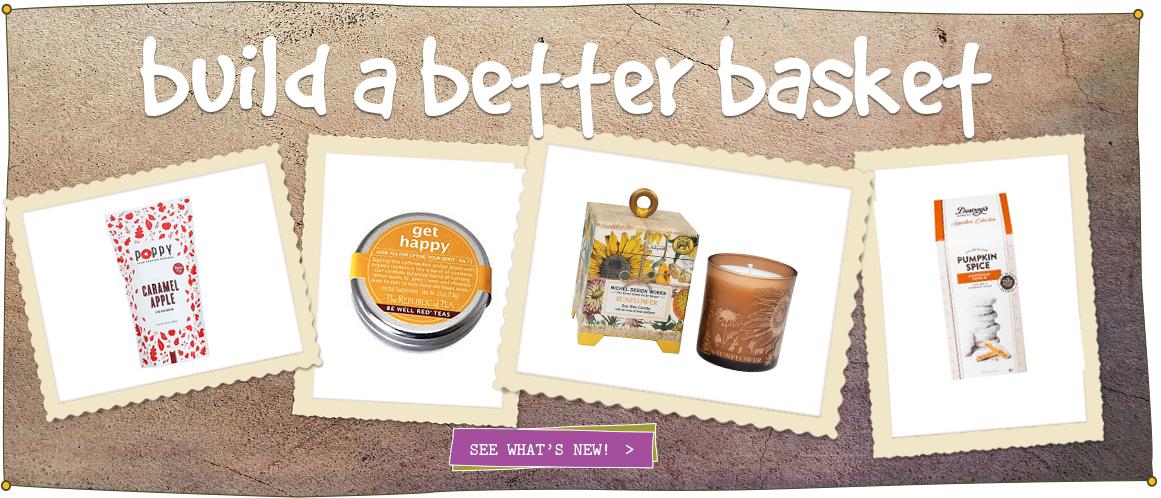 Healthy artisan gift baskets