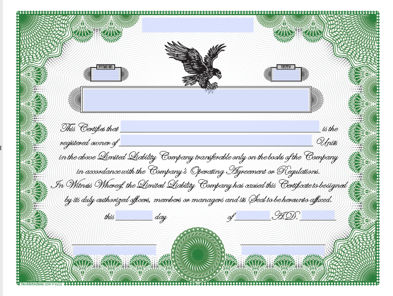 It is a picture of Printable Certificate Paper within employee