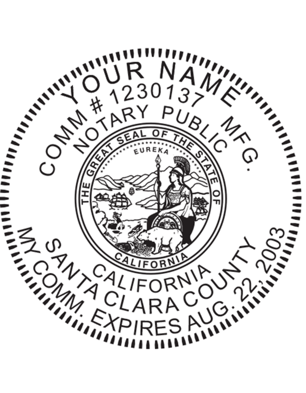 California Notary Embosser - ExhibitIndexes.com