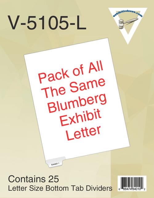 Blumberg #5105 Indexes