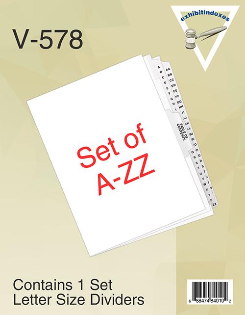 Set of A-ZZ