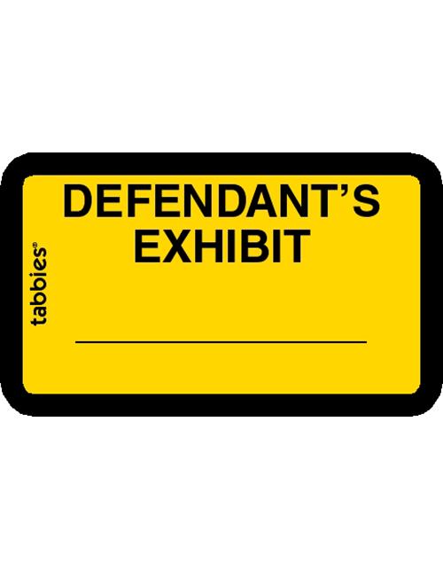 Tabbies 58024 Defendants Exhibit Yellow