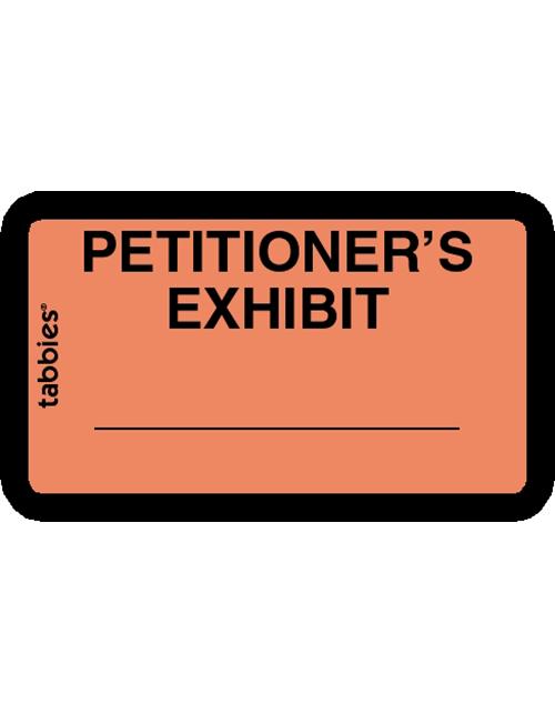 Tabbies 58026 Petitioner's Exhibit Orange