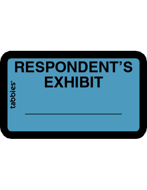 Tabbies 58027 Respondents Exhibit