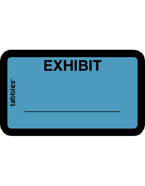 Tabbies  58091 Exhibit Blue