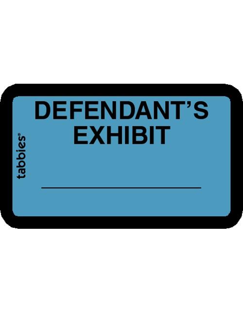 Tabbies 58093 Defendants Exhibit Blue
