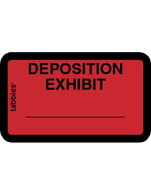 Tabbies 58095 Deposition Exhibit Red
