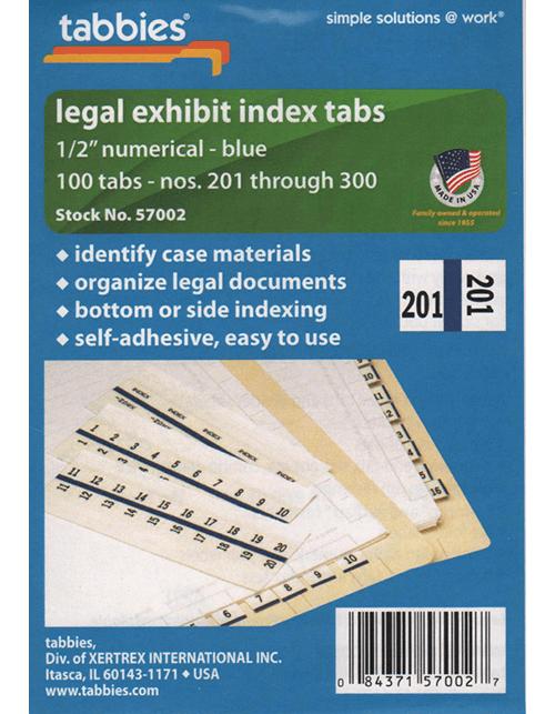 Tabbies 57002 Numbers 201-300