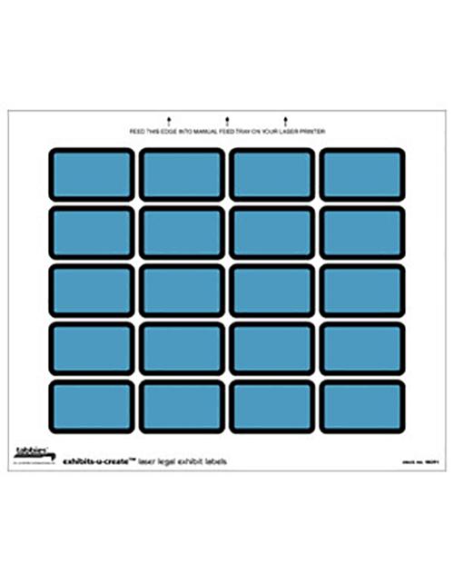 Tabbies 48091 Exhibit Labels Blue