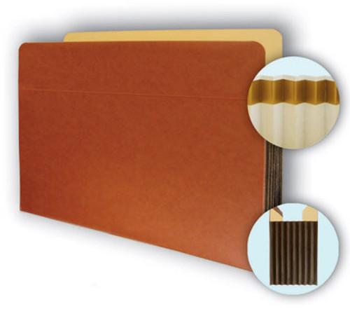 Letter size pocket with Tyvek expansion