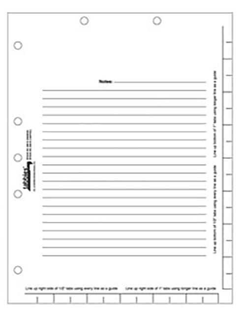 Tabbies 53018 Divder Sheets