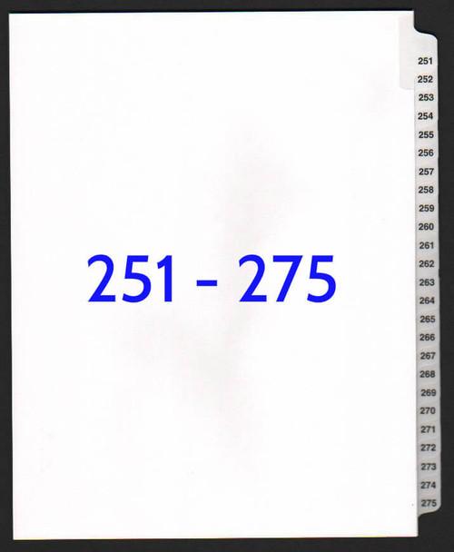 exhibitindexes.com V-SNS-251-275