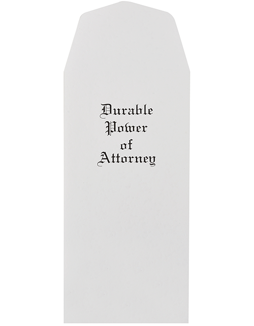 Durable Power of Attorney Envelopes