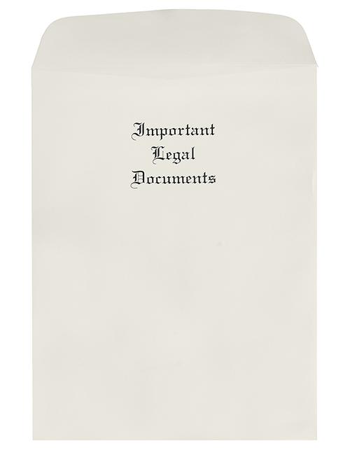 Oversize Important Legal Documents Envelopes