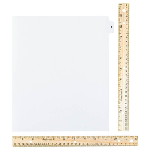 Wide Dividers 1-25