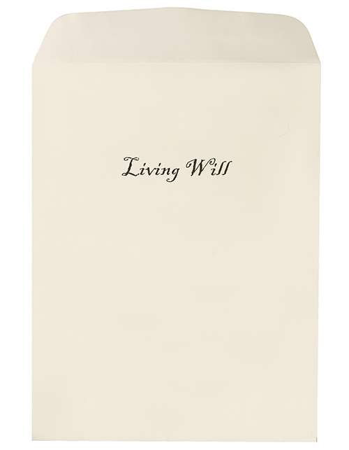 Oversize Living Will Envelopes ( V-2345-LVW)