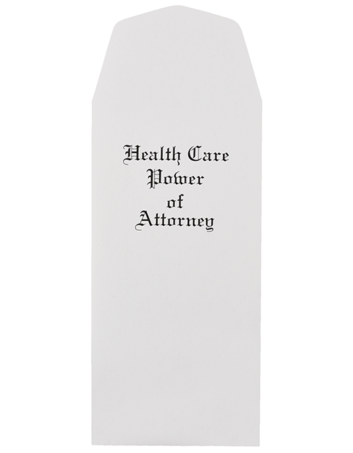 Health Care Power of Attorney Envelopes