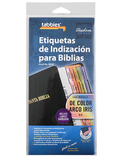 Tabbies 58347 Spanish Bible Tabs